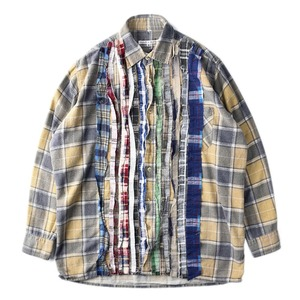 "NEEDLES Rebuild by Needles Flannel Shirt M size ""B"""