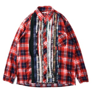 "NEEDLES Rebuild by Needles Flannel Shirt L size ""J"""