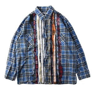 "NEEDLES Rebuild by Needles Flannel Shirt L size ""N"""