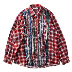 "NEEDLES Rebuild by Needles Flannel Shirt L size ""D"""