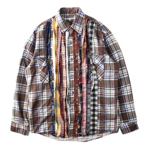 "NEEDLES Rebuild by Needles Flannel Shirt M size ""C"""