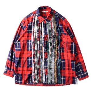 "NEEDLES Rebuild by Needles Flannel Shirt L size ""H"""
