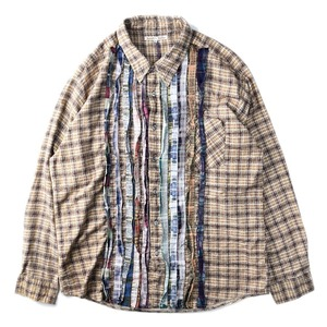 "NEEDLES Rebuild by Needles Flannel Shirt L size ""C"""