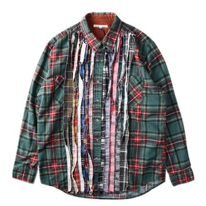 "NEEDLES Rebuild by Needles Flannel Shirt M size ""D"""