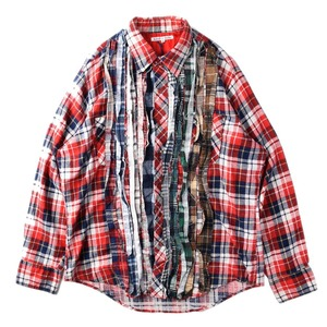 "NEEDLES Rebuild by Needles Flannel Shirt L size ""I"""