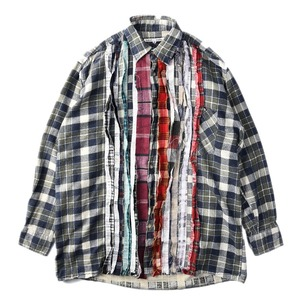 "NEEDLES Rebuild by Needles Flannel Shirt M size ""F"""