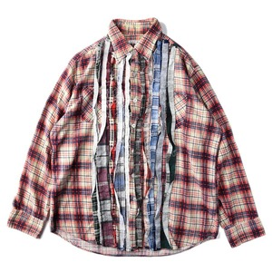 "NEEDLES Rebuild by Needles Flannel Shirt L size ""K"""