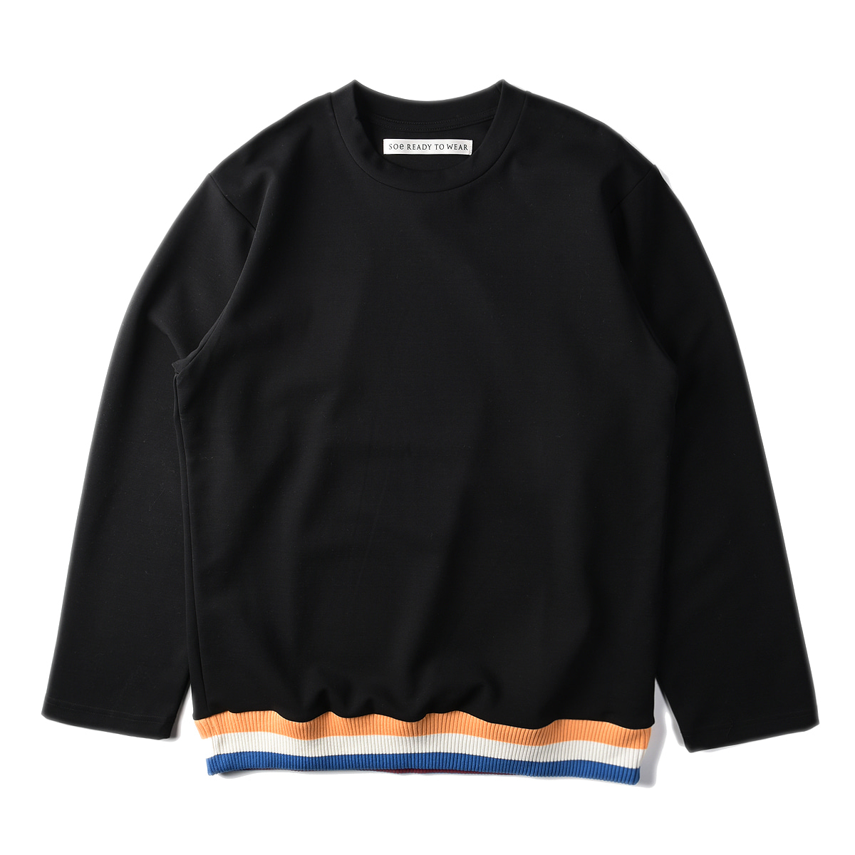 "SOE Crew Neck L/S Shirt ""Black"""