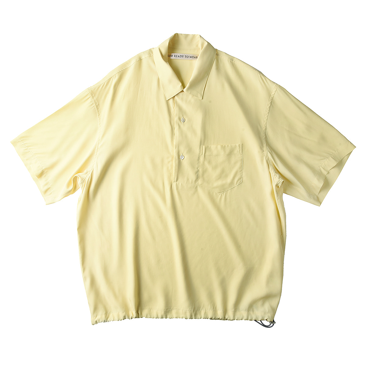 "SOE H/S Pullover Shirt ""Yellow"""