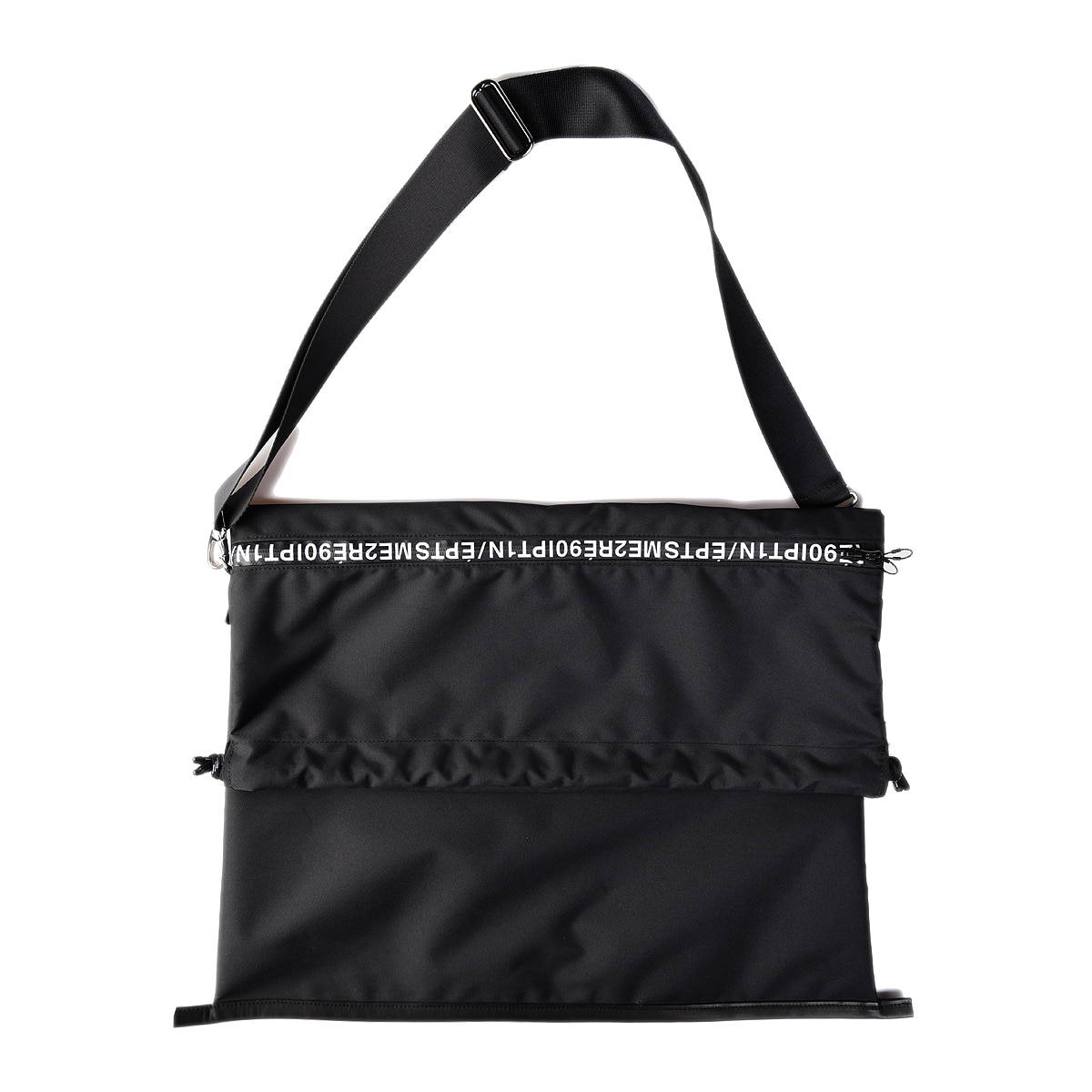 "SOE Lettered Zip Tote ""Black"""