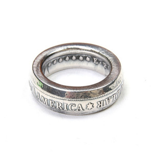North Works 1$Morgan Dollar RING SLIM