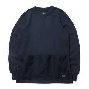 "Snow Peak Camping Sweat Pullover ""Navy"""