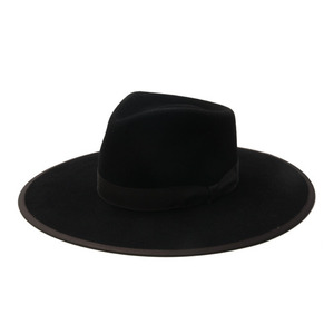 "Brixton - Limited Collection JAMES Ltd. Fedora ""Black"""