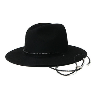 "Brixton - Limited Collection FREEPORT Ltd. Fedora ""Black"""