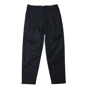 "Still by Hand Deep Tuck Slacks ""Navy"""