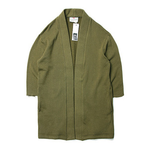 "VOTE Stay Cool Long Cardigan ""Olive"""