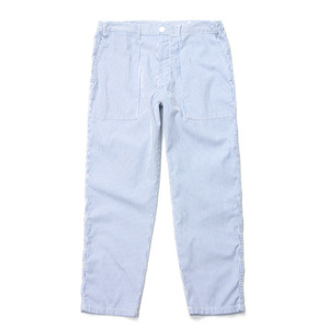"NEITHERS Tapered Fatigue Pants ""Blue Stripe"""