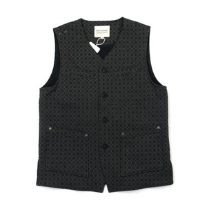 Qlad Museum Goffered Jacquard Tuning Vest